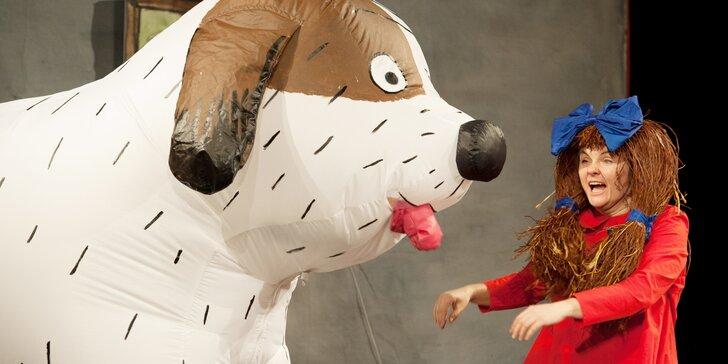 Vstupenka na dětské představení Maxipes Fík v Divadle Bez zábradlí