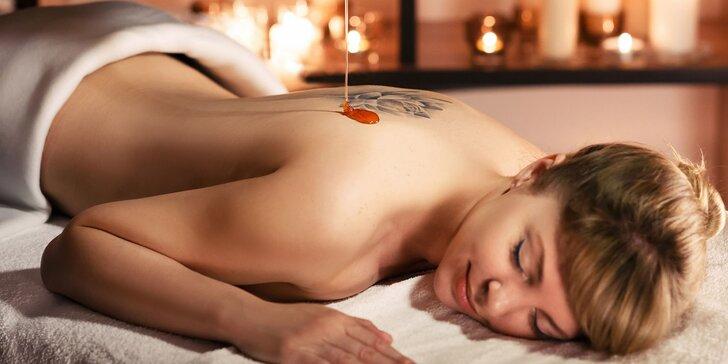 Připravte se na jaro: Detoxikační masáž dle výběru i peeling nebo tělová svíce