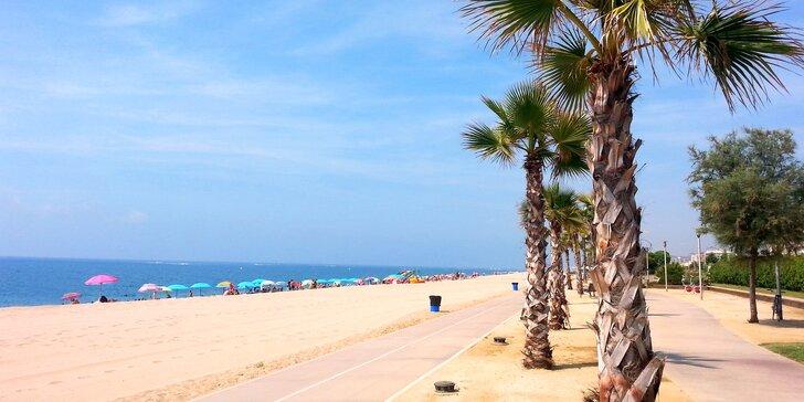 Týden ve Španělsku na Costa del Maresme: 3* hotel s polopenzí