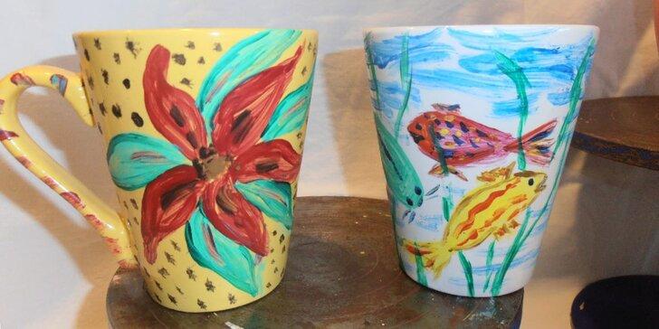 Workshop malování na keramické hrnky: odneste si tradiční cibulák