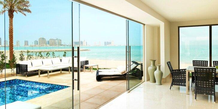 Dovolená v orientálním Kataru: 4–11 nocí v 5* resortu s polopenzí a bazénem