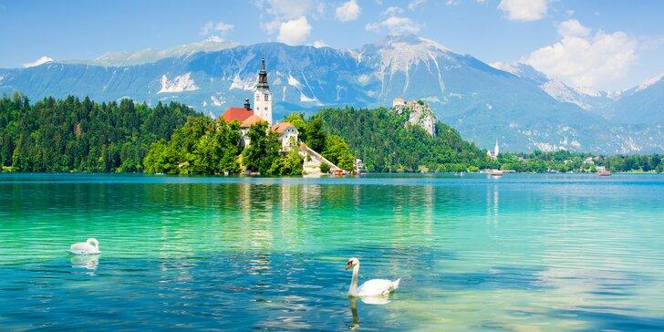 Slovinsko od Triglavu k moři – ubytování ve 3* hotelu a služby průvodce