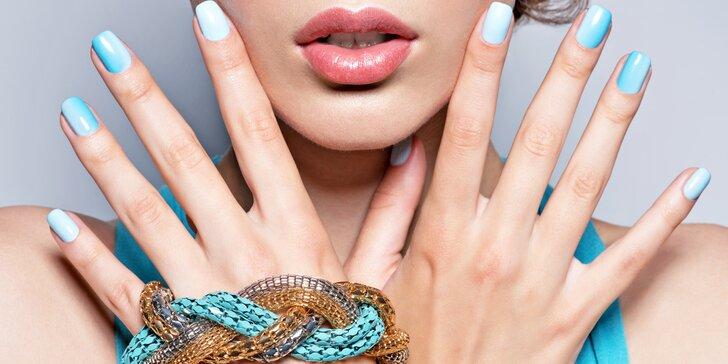 Pečlivá manikúra i s možností lakování gel lakem nebo Shellacem
