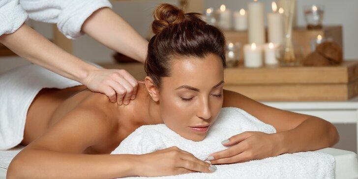 Masáž na míru: klasická nebo Breussova masáž s použitím baněk dle potřeby