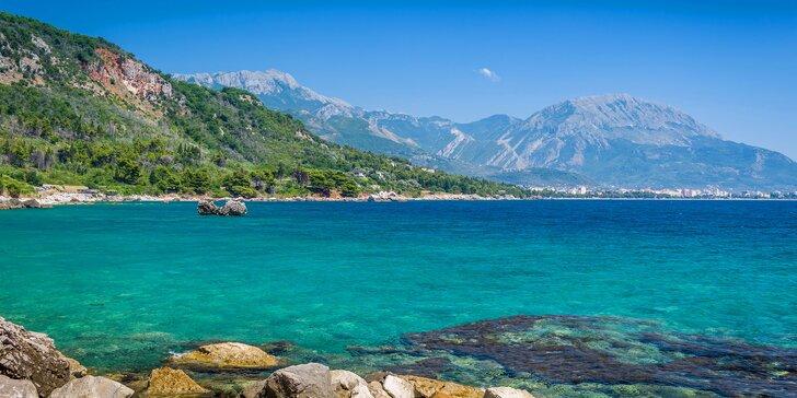 7 nocí v letovisku Bar v Černé Hoře se snídaní, letenky či autobus za příplatek