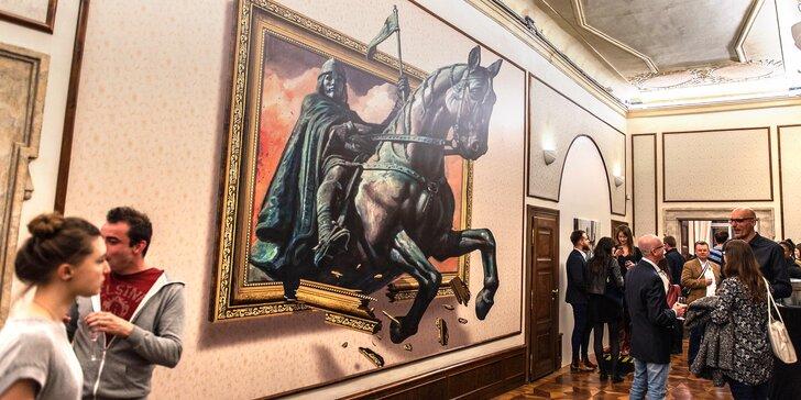 Vstup do muzea iluzí Illusion Art Museum Prague pro jednotlivce i rodiny