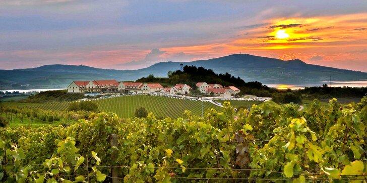 Ve všední dny za relaxací: pobyt ve Vinařství U Kapličky s wellness a vínem
