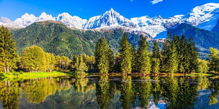 Poznávací zájezd do Švýcarských a Francouzských Alp: 2 noci, Bern i Ženeva
