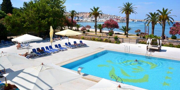 Letovisko Bar v Černé Hoře: 7 nocí s polopenzí, hotel u pláže a s bazény