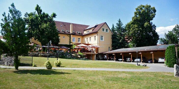 3* hotel v Bojnicích: jídlo i vstup do zoo nebo na zámek vzdálený jen 300 m