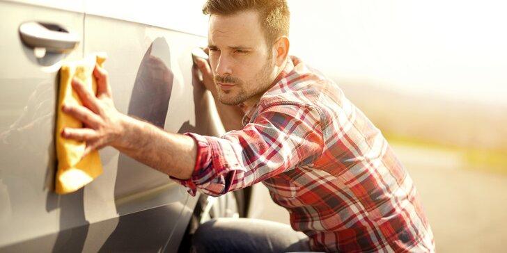 Sprška pro váš vůz: Ruční mytí, tepování/impregnace i dezinfekce klimatizace