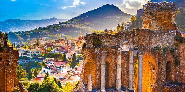 Zájezd na Sicílii, do Říma, Syrakus i na Capri s ubytováním a polopenzí