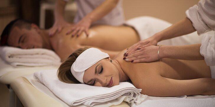 Dokonalý relax: 30 min. masáže zad a šíje a 60 min. v sauně pro 1 i 2 osoby