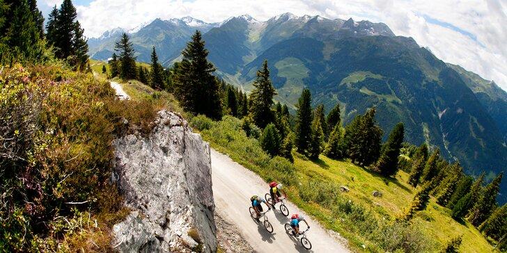 Krásy Tyrolska: hotel v Ried im Zillertal, polopenze, děti do 10,9 let zdarma