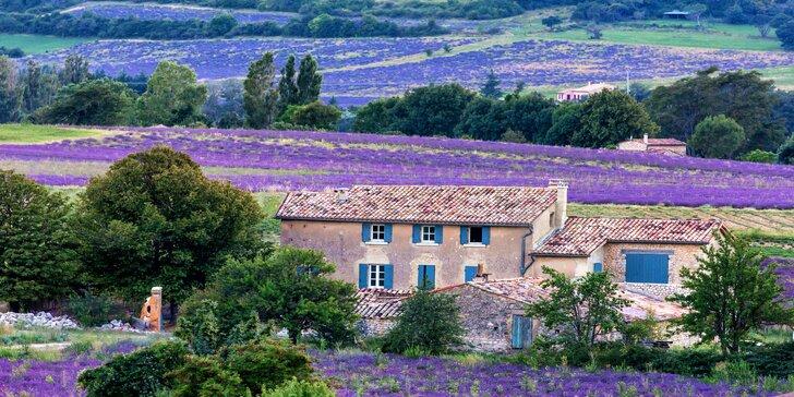 Krásy levandulové Provence, Monaka, Cannes i Camargue: 3 noci se snídaní