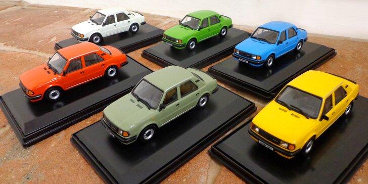 Obdivujte tisíce historických modelů v Muzeu autíček: vstup pro 1 i rodinu