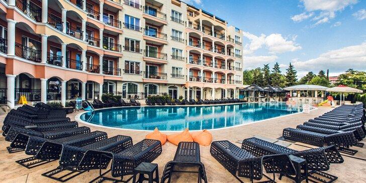 4* pobyt na Slunečném pobřeží na 7 nocí: all inclusive program i bazén