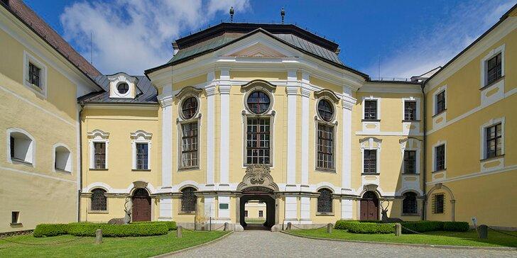 Zámecké ubytování na Vysočině ve Žďáru nad Sázavou: pobyt vč. snídaně