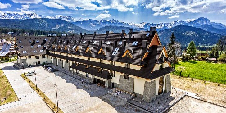 Aktivity i wellness v Zakopaném: pokoj s balkonem, strava, bazén i sauny