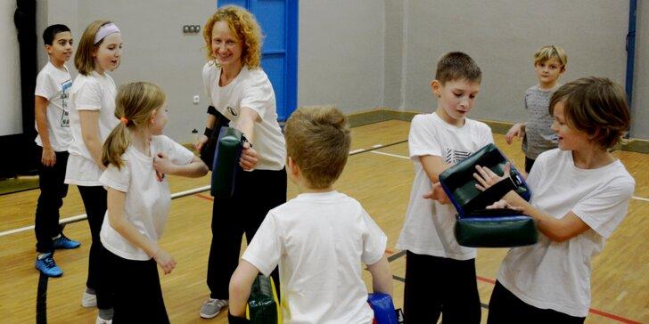 Měsíční permanentka: kung fu a sebeobrana pro děti ve Wing Chun Kuen