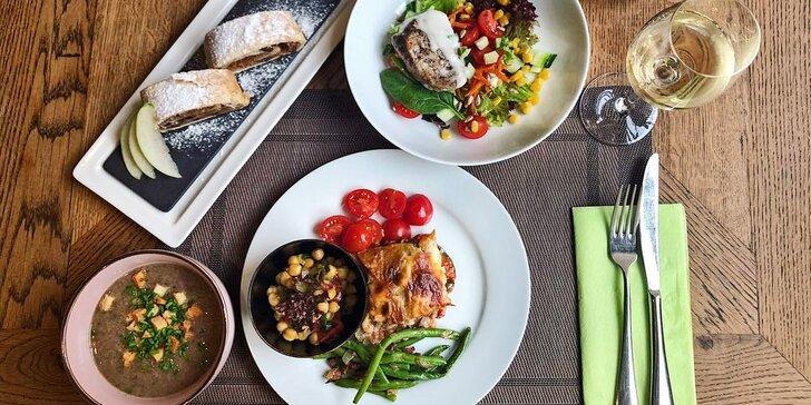 Co si naberete, na tom si pochutnáte: bufetový oběd all you can eat