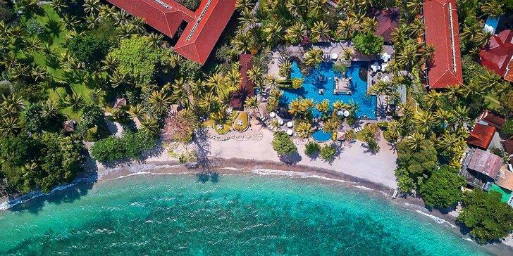 Luxusní pobyt v 5* resortu na Lomboku: 6–12 nocí s polopenzí a bazénem