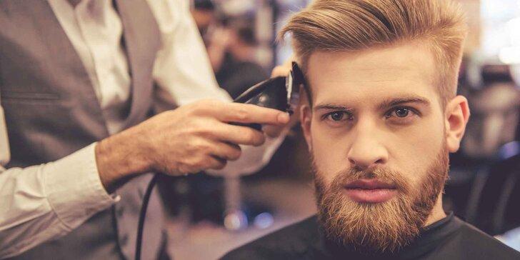 Tradiční perský barbershop: pánský střih s ošetřením obličeje i masáží hlavy