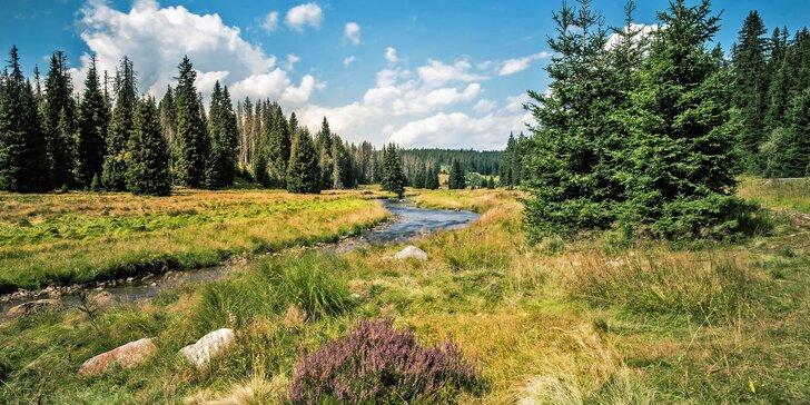 Jarní pobyt na Šumavě: půjčení kol na celou dobu pobytu, polopenze, výlety