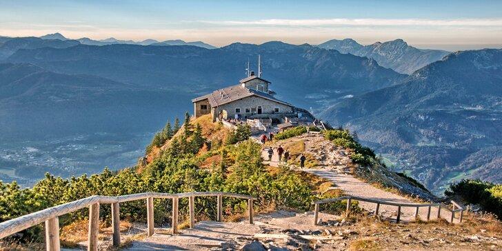 Jednodenní výlet do německých Alp na Orlí hnízdo a k jezeru Königssee