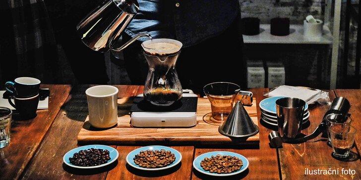 Domácí barista: teoretický i praktický kurz pro vášnivé kávomily s degustací