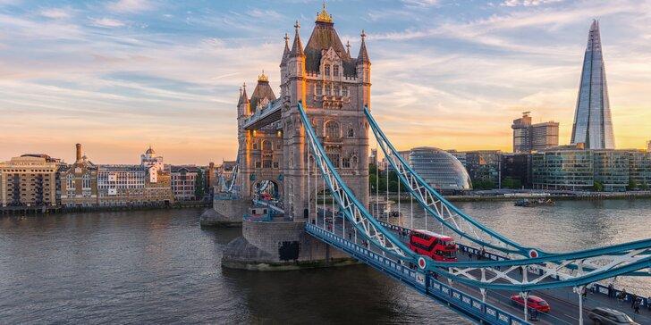 To nejlepší z Londýna ve 4denním zájezdu s ubytováním na 1 noc a snídaní