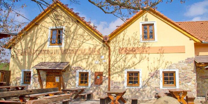 Relax a skvělá kuchyně u Znojma: 2 noci s jídlem, saunou i prohlídkou kláštera