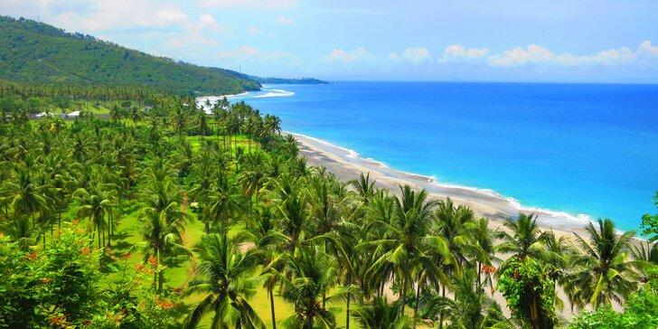 Perfektní odpočinek v 4* resortu na Lomboku: 6–12 nocí s polopenzí, lázně