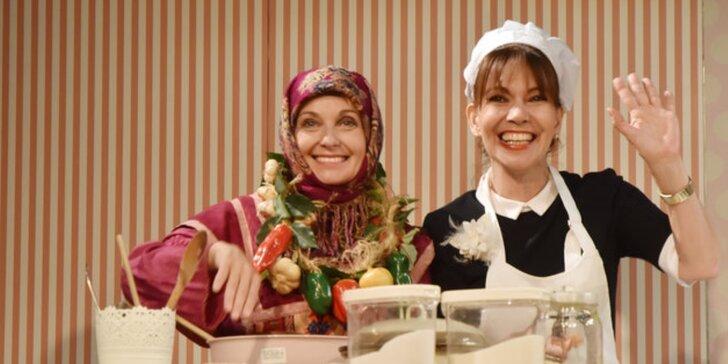 Žižkovské Šapitó: Vstupenka na divadelní představení Čarodějky v kuchyni
