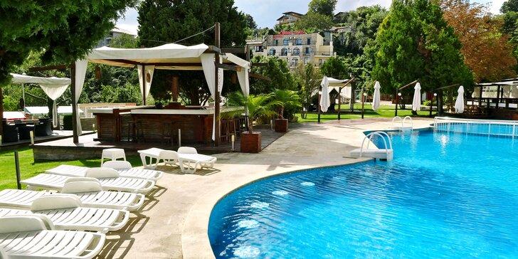 Letecky na Zlaté Písky: 7 nocí s all inclusive, hotel s bazénem, český delegát