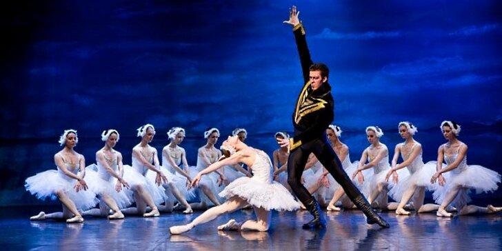 Jarní okouzlující baletní představení Labutí jezero v Hybernii
