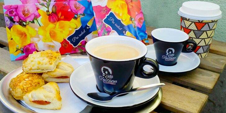 Espresso Don Cortez, Minitky podle výběru a belgická čokoláda pro 1 osobu