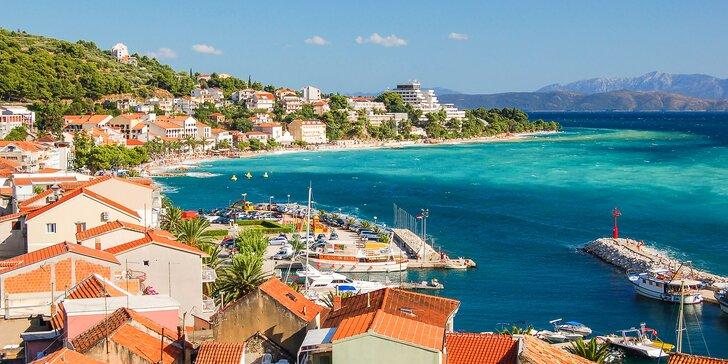 Až 7 nocí v chorvatské Podgoře: dovolená s polopenzí v hotelu přímo u pláže