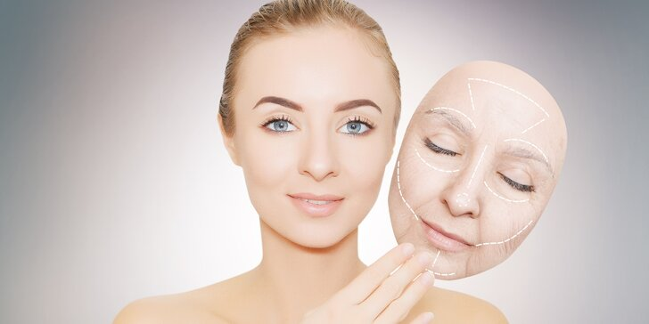 Laserové ošetření očního okolí, obličeje, krku a dekoltu