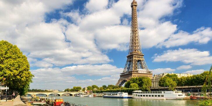 Velikonoční Paříž se zastávkou ve Versailles na 2 noci vč. snídaně a průvodce