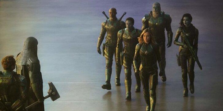 Vstupenka do kina na film Captain Marvel na Kinolodi + drink