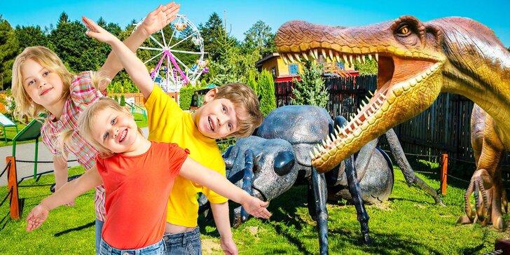 Navštivte park plný dinosaurů a zábavy: 2denní vstup do polského Zatorlandu