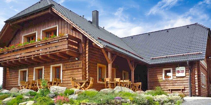 3 jarní dny ve stylovém horském penzionu s privátním wellness na Šumavě