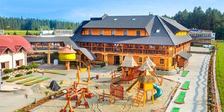 Objevte krásy slovensko-polského pohraničí: dovolená s polopenzí pro 2