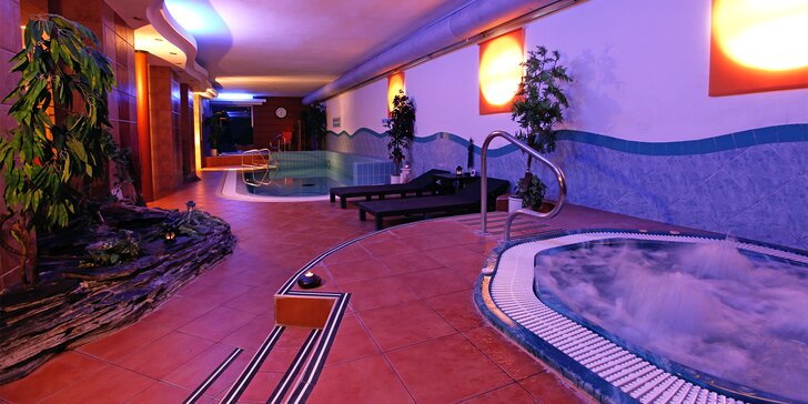 Relaxace na jižní Moravě s polopenzí a neomezeně wellness i bazén
