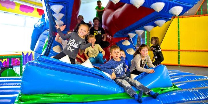 Vstup do zábavního parku Toboga Fantasy: parádní herna pro malé i velké