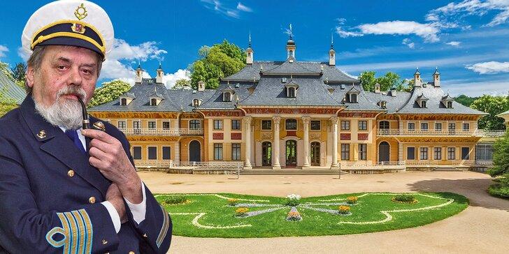 Romantická plavba lodí k německému zámku Pillnitz s obědem a večeří