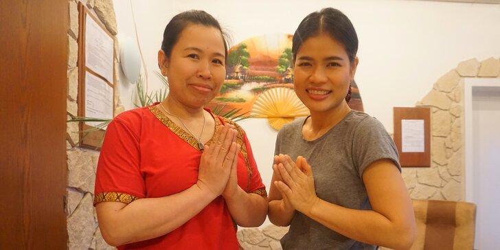 Relax pro dva: thajská párová olejová masáž v solné jeskyni