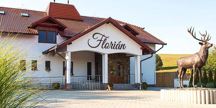 3 nebo 4 dny v malebné vesničce na jihu Slovenska s polopenzí a lahví vína