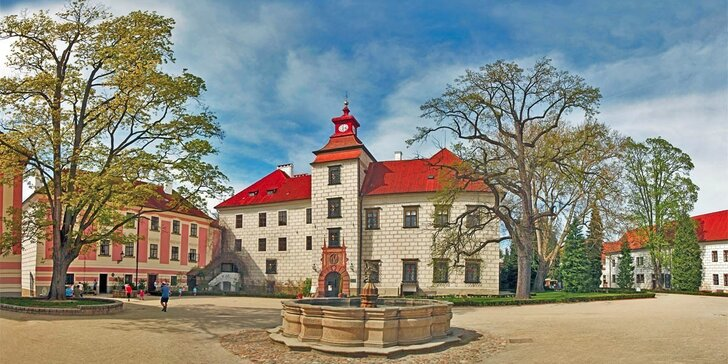 Za krásou jižních Čech: 3–6 dní se vstupem do lázní a polopenzí v Třeboni